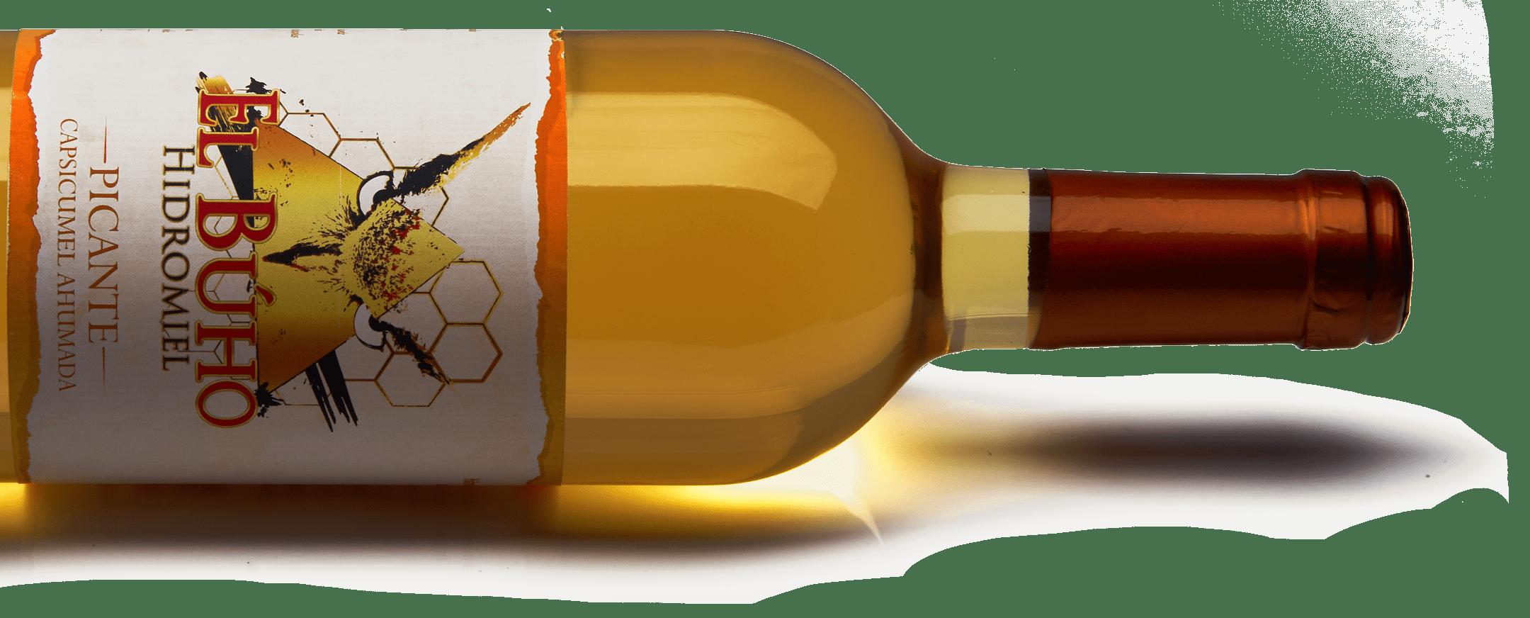 Botella horizontal